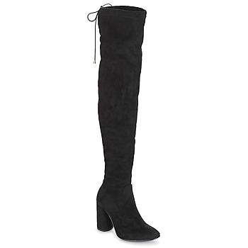 Shoes Women High boots André VELOURS Black