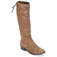 Shoes Women Boots André ANAIS Taupe
