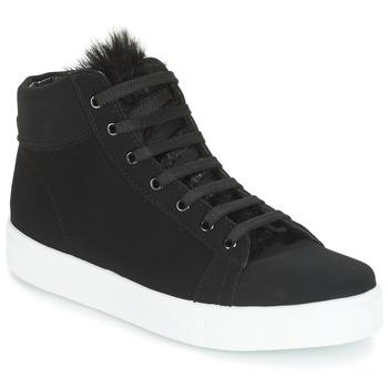 Shoes Women High top trainers André GOSPEL Black
