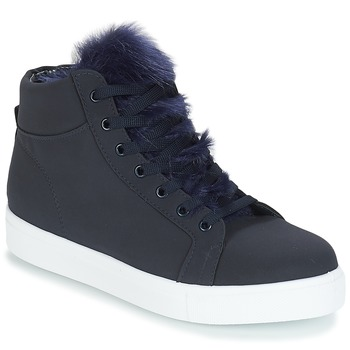 Shoes Women High top trainers André GOSPEL Marine