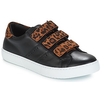 Shoes Women Low top trainers André PADDLE Leopard