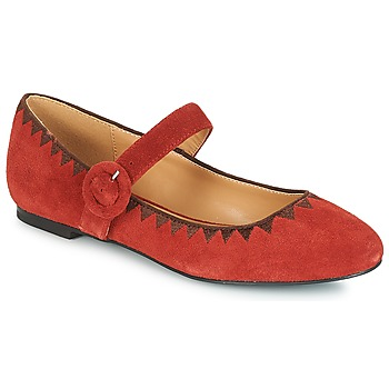 Shoes Women Ballerinas André ALBOROZA Red