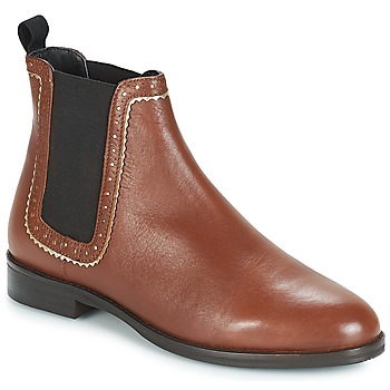 Shoes Women Mid boots André CARLOTA Brown