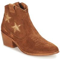 Shoes Women Mid boots André CELESTE Camel
