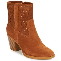 Shoes Women Ankle boots André DELIA Camel