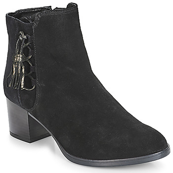 Shoes Women Mid boots André MISS Black