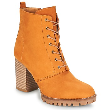 Shoes Women Ankle boots André ROVER Yellow