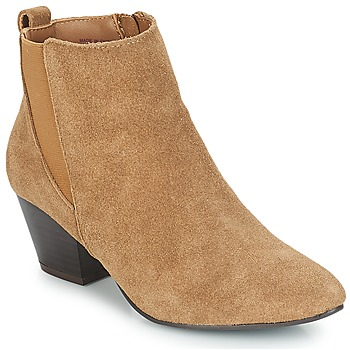 Shoes Women Ankle boots André CALIMITY Beige
