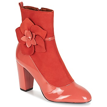 Shoes Women Ankle boots André MAGDALENA Pink