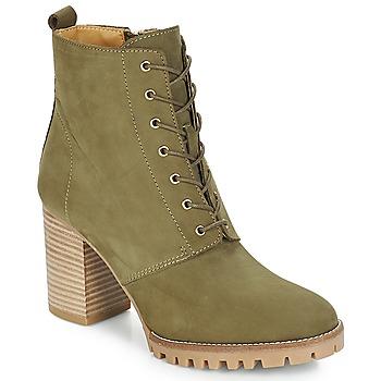 Shoes Women Ankle boots André ROVER Kaki