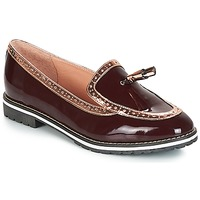 Shoes Women Loafers André DEBBY Bordeaux