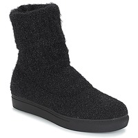 Shoes Women Mid boots André CROCUS Black
