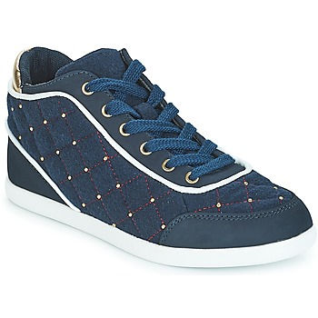 Shoes Women High top trainers André KINGDOM Blue