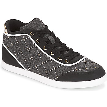 Shoes Women High top trainers André KINGDOM Grey