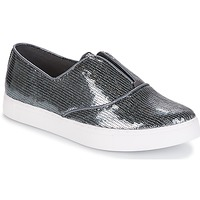 Shoes Women Slip ons André COSMIQUE Silver