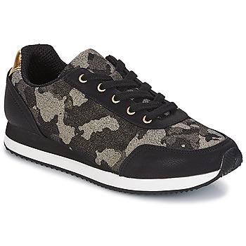 Shoes Women Low top trainers André KIM Black