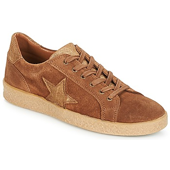 Shoes Women Low top trainers André ABIGAIL Camel