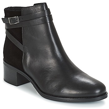 Shoes Women Mid boots André CANTATE Black