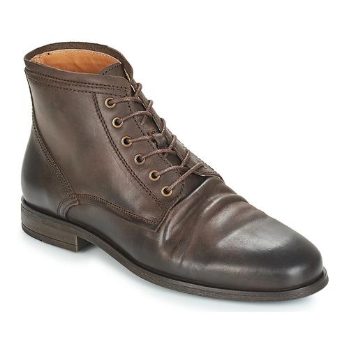 Shoes Men Mid boots André INVENTEUR Brown