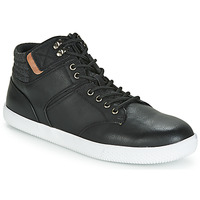 Shoes Men High top trainers André RAPPEUR Black