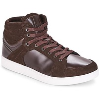 Shoes Men High top trainers André URBAIN Brown