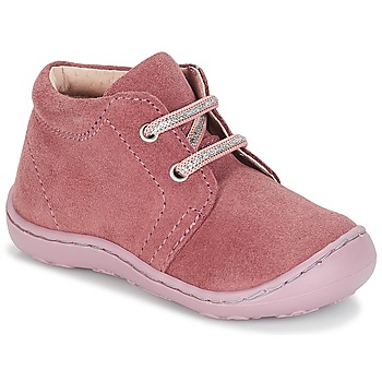 Shoes Girl Mid boots André PALE Pink