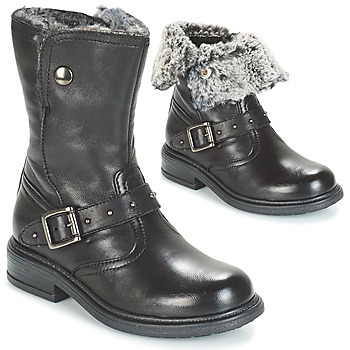 Shoes Girl Mid boots André GIBOULEE Black