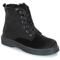 Shoes Girl Mid boots André ROCKABILLY Black