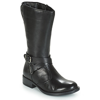 Shoes Girl Boots André HIVER Black