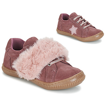 Shoes Girl Derby shoes André RUBAN Pink