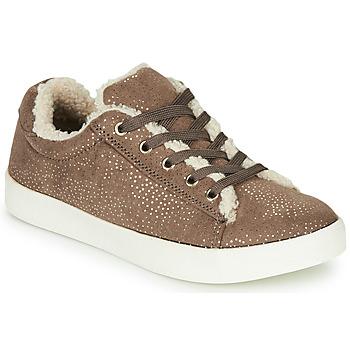 Shoes Girl Derby shoes André MOUFLETTE Beige