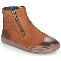 Shoes Boy Mid boots André CUMIN Brown
