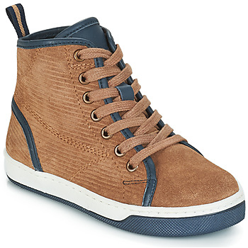 Shoes Boy Mid boots André STREET Beige