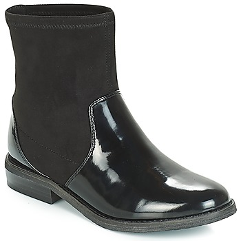 Shoes Girl Mid boots André VALENTINA Black