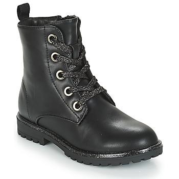 Shoes Girl Mid boots André CLAPTON Black