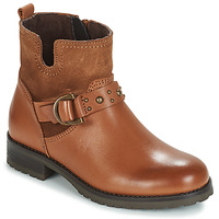 Shoes Girl Mid boots André MASSALA Brown