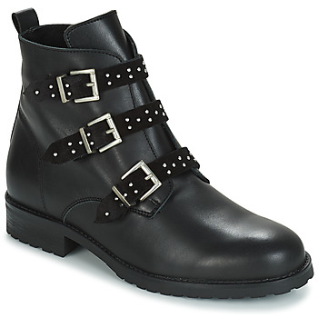 Shoes Girl Mid boots André REGLISSE Black