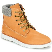 Shoes Boy Mid boots André TROTTEUR Yellow