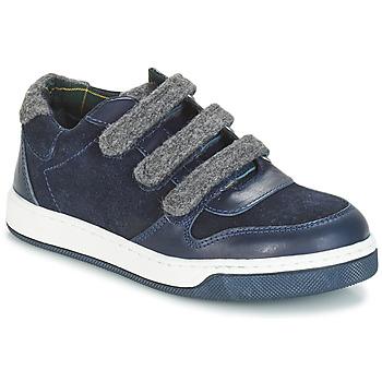 Shoes Boy Derby shoes André CARREAU Marine