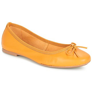 Shoes Women Ballerinas André PIETRA Yellow