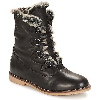 Shoes Women Mid boots André CHAMONIX Black
