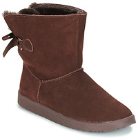 Shoes Women Mid boots André TOUDOU Brown