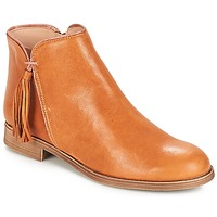 Shoes Women Mid boots André PAOLINE Brown