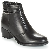 Shoes Women Mid boots André CALOTINE Black