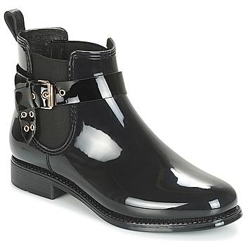 Shoes Women Wellington boots André THAMES Black