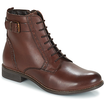 Shoes Women Mid boots André CHEPTELA Brown