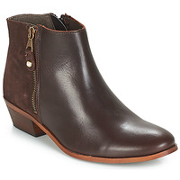 Shoes Women Mid boots André THAIS Brown