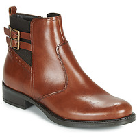 Shoes Women Mid boots André CARLIN Brown