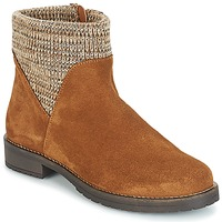 Shoes Women Mid boots André TRIAL Brown