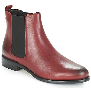 Shoes Women Mid boots André CARAMEL Red